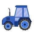 Vehicle tractor farm vector image