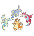 Dragons Family vector image vector image