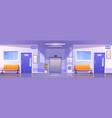 hospital corridor interior medical clinic hall