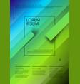 modern art poster template vector image vector image