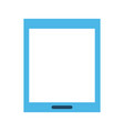 tablet with blank screen icon image vector image vector image