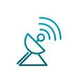 antenna signal transmission communications vector image