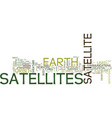 artificial satellite types text background word