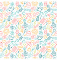 background for little boys and girls in sketch vector image vector image