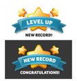 new record a message vector image