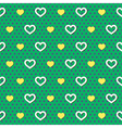 Polka Dots Hearts Pattern