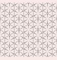 rhombuses geometric pattern monochrome seamless vector image