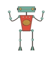 Robot character vector image vector image