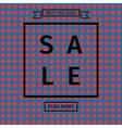 Sale templates with discount offer vector image vector image