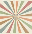 sunburst old background vector image vector image