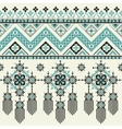 tribal ethnic seamless pattern ideal vector image vector image