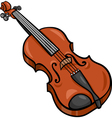 Violin cartoon clip art