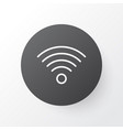 wi-fi icon symbol premium quality isolated vector image vector image