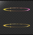 abstract of a light effects in vector image vector image