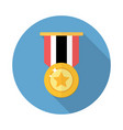 award medal icon vector image vector image