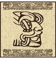 Aztec Motif Head Background