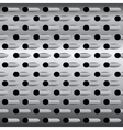 Background texture steel grater background vector image vector image