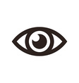 Eye icon vector image
