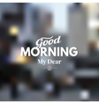 Good day vector image vector image
