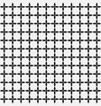 grid of black leafs seamless pattern background vector image vector image