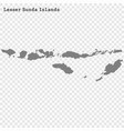 high quality map is a island indonesia vector image
