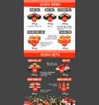 japanese cuisine asian food menu template