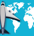 traveling and transport cartoon vector image