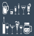 drinkss5 vector image
