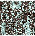 flower background in chinese style vector image vector image