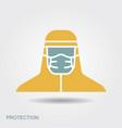 medical scientist bacteriologist doctor vector image vector image