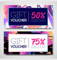 sale coupon design template in 1980s style retro vector image vector image