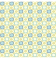 seamles pattern with yellow and blue ovals vector image