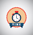 timer design vector image vector image