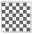 chess board engraving hand drawn doodle scribbles vector image