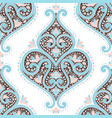 beautiful floral seamless pattern vector image