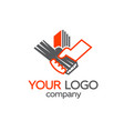 building logotype vector image