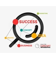 Marketing analysis concept vector image