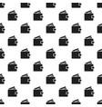 money wallet pattern seamless vector image vector image