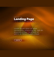 neon glowing background for landing page vector image