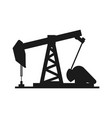 petroleum extraction machine vector image