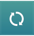 refresh reload rotation loop sign vector image vector image