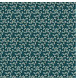 Seamless floral repeating pattern vector image vector image