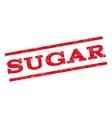 Sugar Watermark Stamp vector image vector image