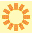 Tarot cards Back side Zodiac circle sread vector image vector image
