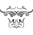 ethnic mask vector image