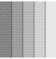 background Wall of gray bricks Eps 10 vector image