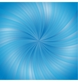 Blue smooth light lines background vector image