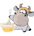 A small cow Cartoon vector image vector image