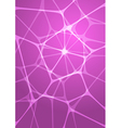 abstract glowing pink background vector image vector image