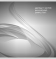 abstract gray curve background vector image
